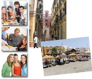 accommodation for students in Malaga - Stay with other international students at an appartment